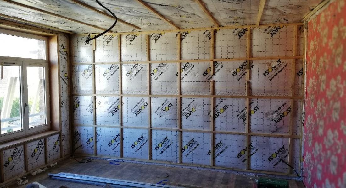 Isolation thermique des murs