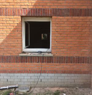 isolation des murs creux par l'extérieur avec la Supafil cavity-wall